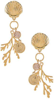 Ettika Shell & Coral Earring