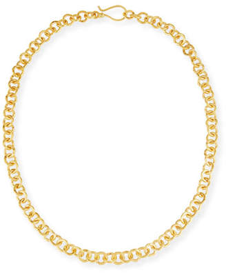 Dina Mackney Hill Tribe Chain Necklace, 18""