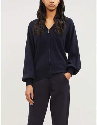 Ted Baker Briikne sculpted sleeve knitted hoody