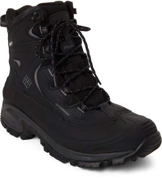 Columbia Black & Charcoal Bugaboot II Waterproof Boots