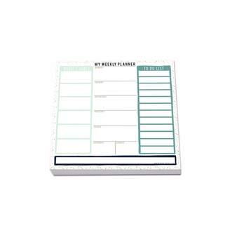 House Of Wonderland - My Weekly Planner Notepad