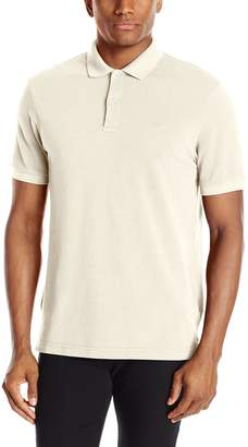 Dockers Washed Pique Polo Short Sleeve with Embroidered Logo