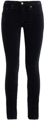 Rag & Bone Cotton-Blend Velvet Skinny Pants
