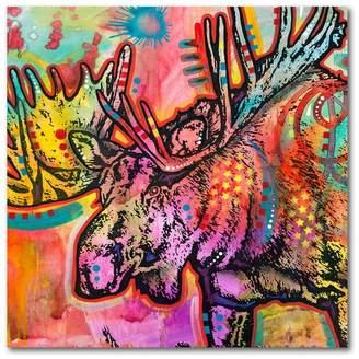 Trademark Fine Art Moose by Dean Russo