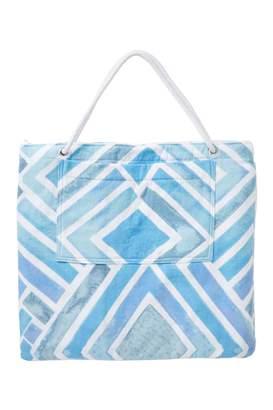 Nordstrom Rack Beach Towel Print Tote Bag