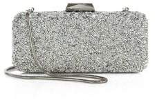 Saks Fifth Avenue Collection Long Rectangular Crystal Clutch