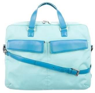 Tumi Leather & Nylon Laptop Bag