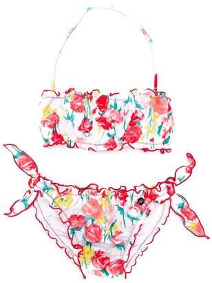 Miss Blumarine floral print bikini