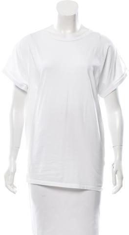 BalmainBalmain Short Sleeve Scoop Neck T-Shirt