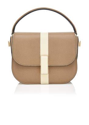 Valextra Iside Jewelled Leather Crossbody Bag