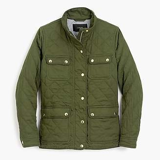 J.Crew Tall quilted downtown field jacket