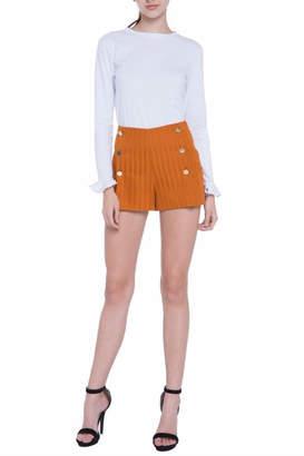 ENGLISH FACTORY Pinstripe Shorts