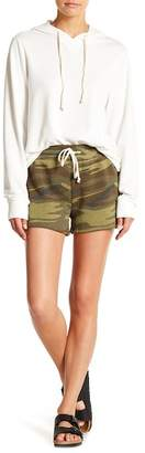 Alternative Cozy Fleece Camo Shorts