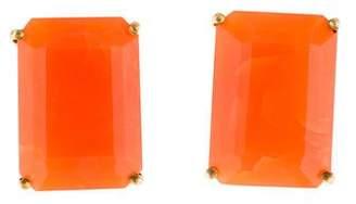 Bounkit Carnelian Clip-On Earrings