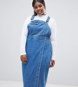 Plus Size Womens Overall Dress Shopstyle