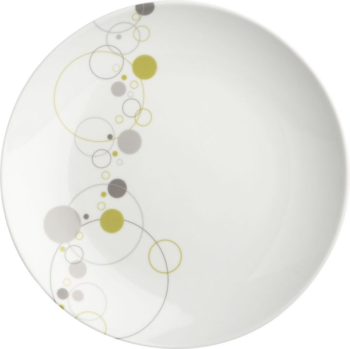 Bubbles Salad Plate