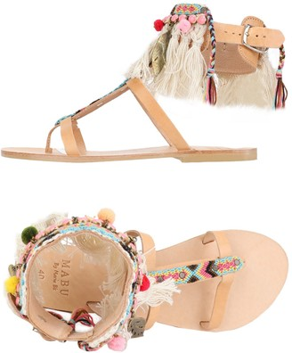 59ac935c2e33 at yoox.com · Mabu by MARIA BK Toe strap sandals