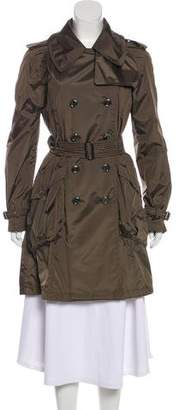 Burberry Long Sleeve Trench Coat