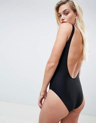Moschino Bear Print Swimsuit