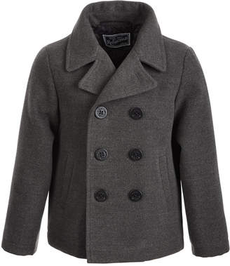 S. Rothschild Toddler Boys Faux-Wool Peacoat