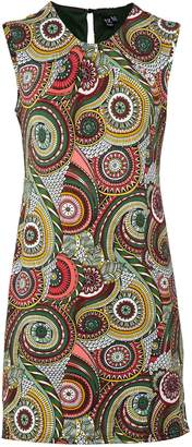 Dorothy Perkins Womens *Izabel London Multi Coloured Kaleidoscope Print Shift Dress