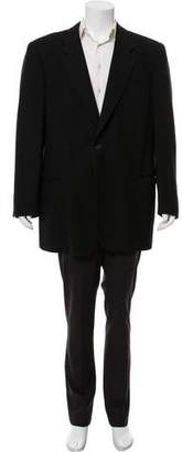 Giorgio Armani One-Button Overcoat