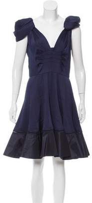 Zac Posen Knee-Length Silk Dress