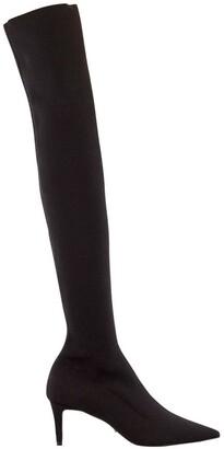 Tony Bianco Gracie Black Sock Boot