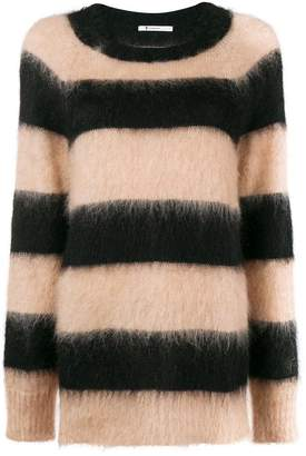 Alexander Wang striped oversized jumper