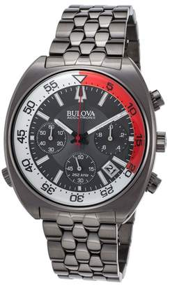 Bulova Men's Snorkel Bracelet Watch, 44mm