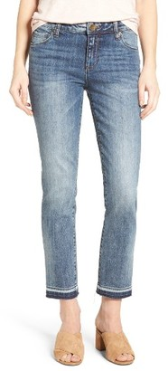 Women's Kut From The Kloth Reese Crop Straight Leg Jeans $89 thestylecure.com