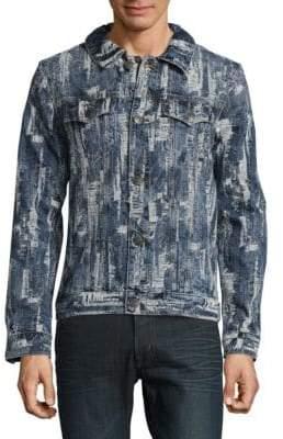 True Religion Danny Ripped Cotton Jacket