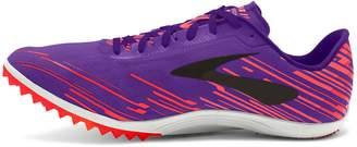 Brooks Women's Mach 18 Spikeless Running Shoe (BRK-120228 1B 3888850 7 626 CORAL/PURPLE/BLA)