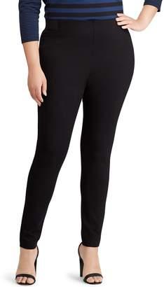 Chaps Plus Size Stretch Ponte Skinny Pants