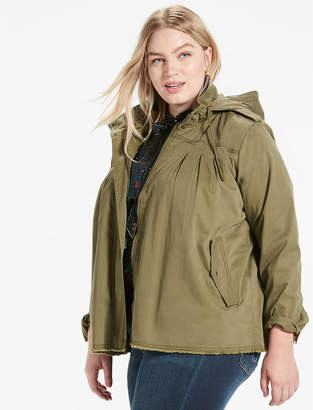Lucky Brand Raw Edge Military Jacket