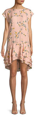 Joie Coreen Floral Silk Dress