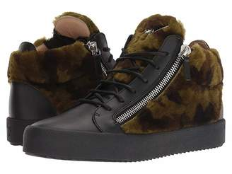 Giuseppe Zanotti May London Patterned Shearling Sneaker