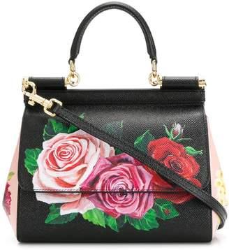 374a498d0a8b Dolce   Gabbana Black Floral Print Bags For Women - ShopStyle Canada