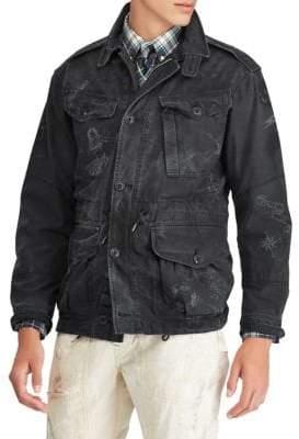 Polo Ralph Lauren Printed Utility Jacket