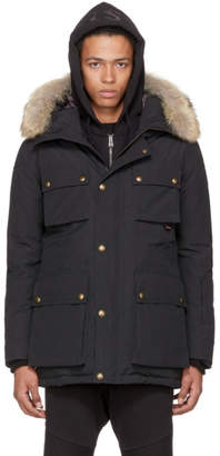 Belstaff Black Down Roadmaster BXS Parka