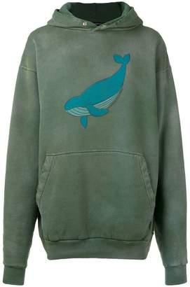 Balenciaga oversized whale hoodie