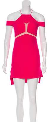 Three floor Crepe Mini Dress w/ Tags