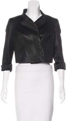 Karolina Zmarlak Crop Three-Quarter Sleeve Jacket