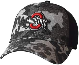 NCAA Kohl's Adult Ohio State Buckeyes Hide and Sparkle Sublimated Camo Adjustable Cap
