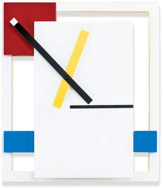 Moma DeStijl Wall Clock