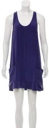 Joie Silk Sleeveless Mini Dress