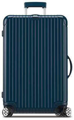 "Rimowa Salsa Deluxe Electronic Tag Yachting Blue 29"" Multiwheel Luggage"