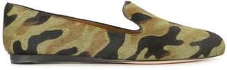 Veronica Beard animal print loafers