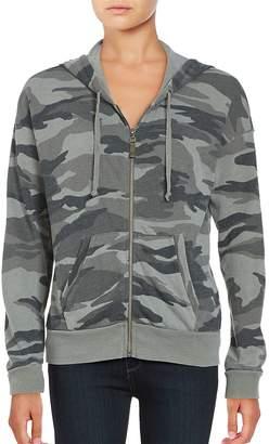 Ella Moss Women's Zip-Front Camouflage Hoodie