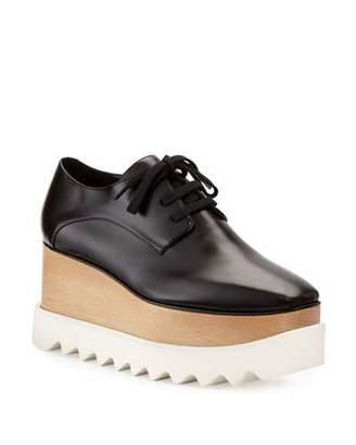 Wooden Platform Oxford Shoes - ShopStyle 44618c19c